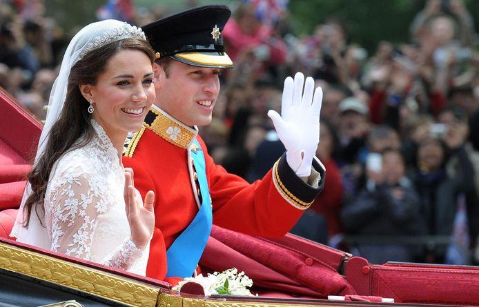 William & Kate zijn 10 jaar getrouwd