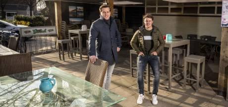 Eetcafé DOK's Bella Italia heeft nu een overdekt terras, dankzij jongeren: 'Typisch Fleringen: met mekaar, veur mekaar!'