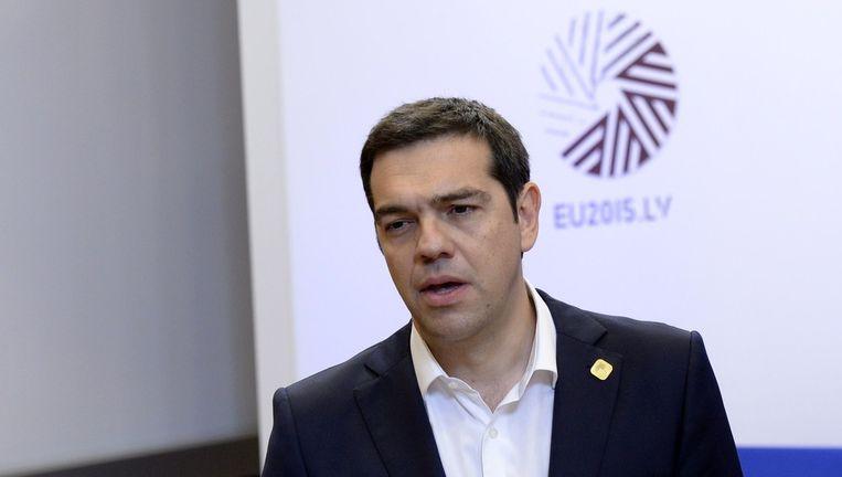 Alexis Tsipras Beeld AFP