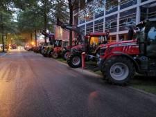 Demonstrerende boeren weer vertrokken bij studio van RTV Oost in Hengelo