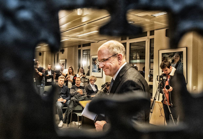 Koen Geens (CD&V) gaf vrijdag zijn koninklijke opdracht terug aan de koning.