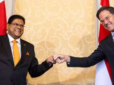 Rutte ziet hernieuwde vriendschap na bezoek Santokhi: 'De naam Bouterse is niet gevallen'