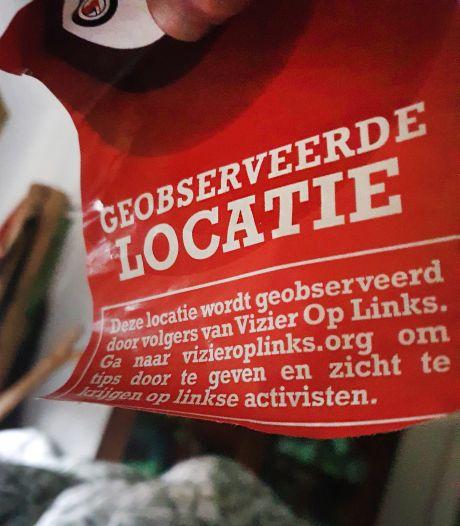 Weer een stap verder in gepolariseerd Nederland: stickers op de deur van 'linkse activisten'