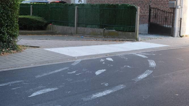 """Vandalen schilderen regenboogzebrapad helemaal weg met witte verf: """"Schandalig dat dit in onze gemeente gebeurt"""""""