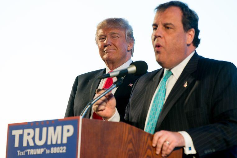 Donald Trump en Chris Christie. Beeld AP