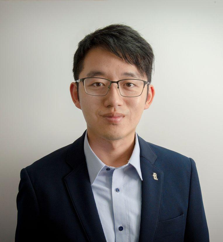 """Tin Fong Chak, leraar in Hongkong: 'Als ik leerlingen vraag wat het grootste probleem in Hongkong is, antwoorden ze glimlachend: """"Dat mogen we niet zeggen.""""' Beeld"""