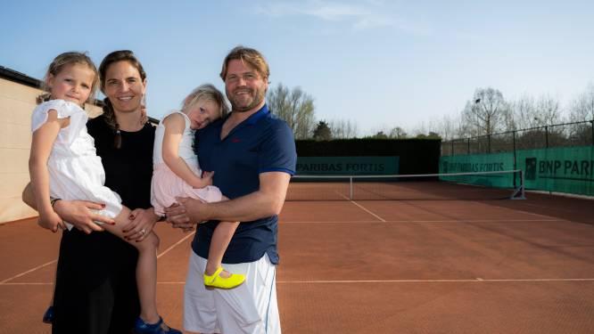 """Didier (44) en Caroline (42) geven Berlaarse tennisclub tweede adem: """"Negen padelterreinen op komst en trainingen gegeven door lokaal toptalent"""""""