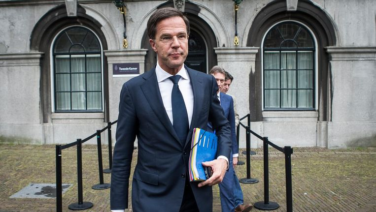 VVD-leider Mark Rutte. Beeld anp
