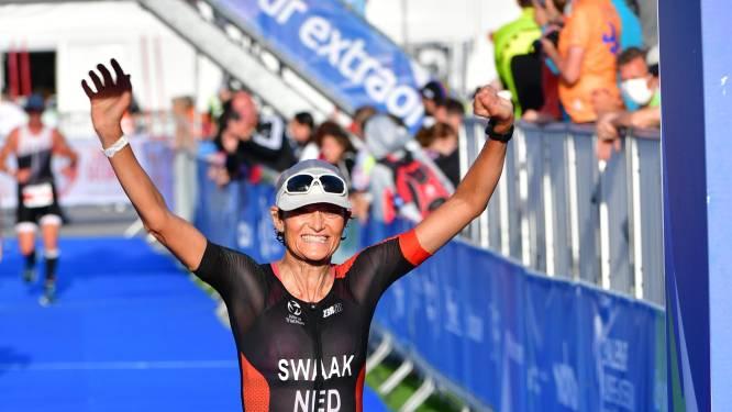 Janine uit Enschede wordt tweede bij WK triatlon: 'Heb onmeunig hard gefietst'