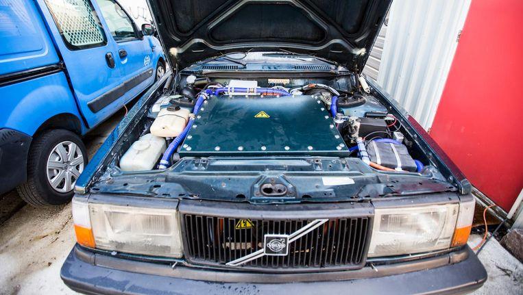 Deze Volvo rijdt voortaan zonder lawaai en trillingen en met de startsnelheid van een sportwagen Beeld Eva Plevier