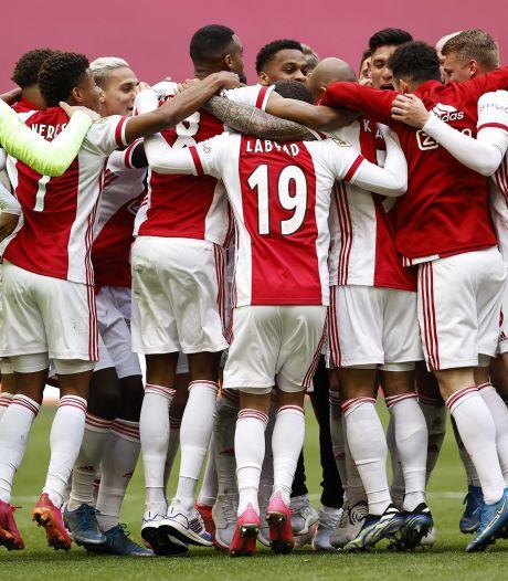 L'Ajax décroche le 35e sacre de son histoire