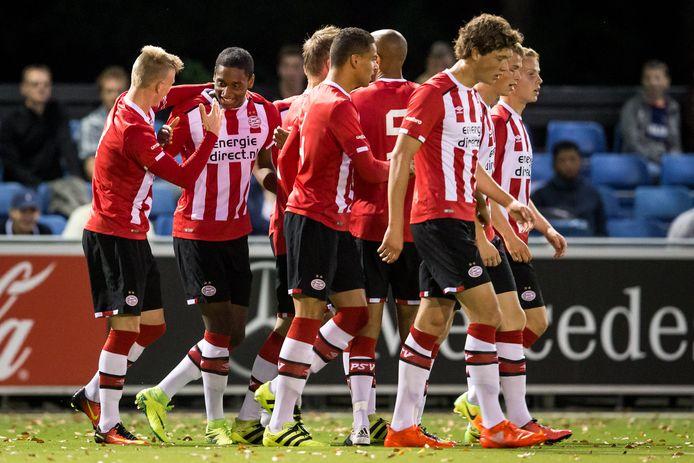 Dit seizoen heeft Jong PSV, versterkt met spelers met meer ervaring, een rol in de top in de eerste divisie.