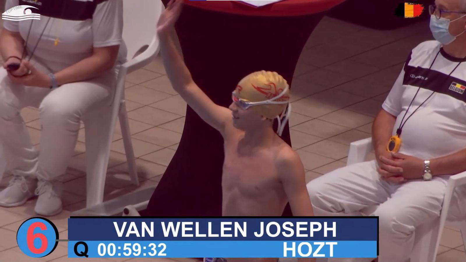 Het Hoogstraats Zwemteam (HoTZ) wist vijf medailles te halen, allemaal dankzij Elina Van de Cloot. Maar ook Joseph Van Wellen gaf het beste van zichzelf.