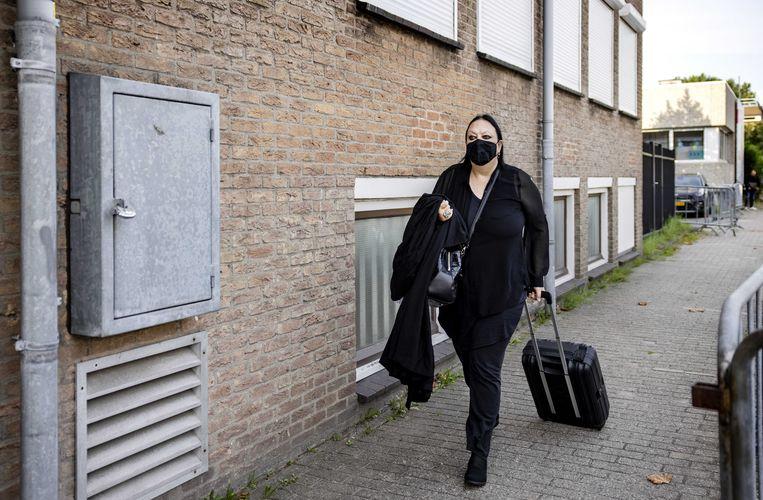 'Dit heb ik nog nooit meegemaakt,' zei advocaat Inez Weski over de afwisseling van het wrakingsverzoek. Beeld ANP