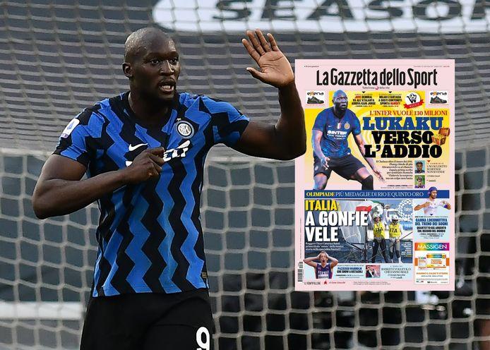Blijft Lukaku Inter trouw?
