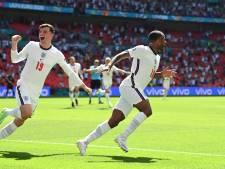 Sterling bezorgt Engeland op Wembley droomstart tegen Kroatië