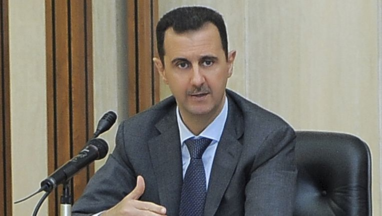 Bashar Assad Beeld ap
