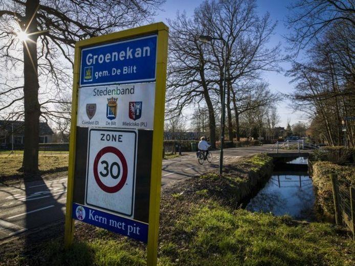 In Groenekan heeft een aantal buren hoogoplopende ruzie.