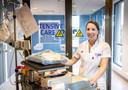 Danique van Nieuwenhuizen, ic-verpleegkundige in het Jeroen Bosch Ziekenhuis in Den Bosch.