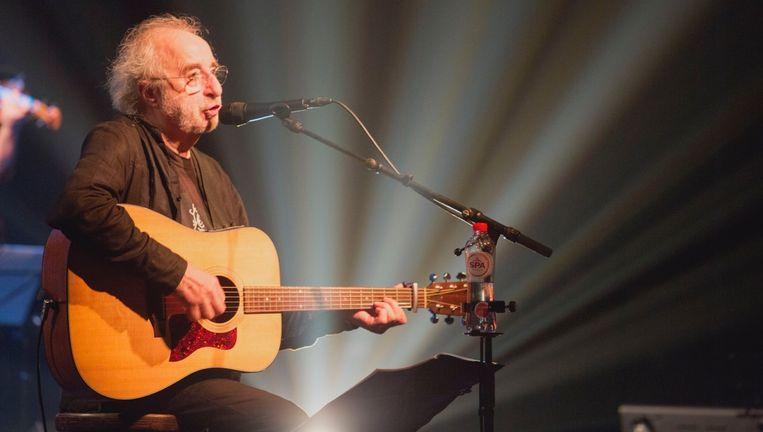 Jan De Wilde: 'Eigenlijk identificeer ik me nog het meest met blueszangers. Die hoeven op latere leeftijd ook geen nieuwe liefdesliedjes meer te zingen.' Beeld Pascal Liagre