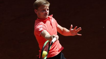 Goffin mist kwartfinale in Madrid
