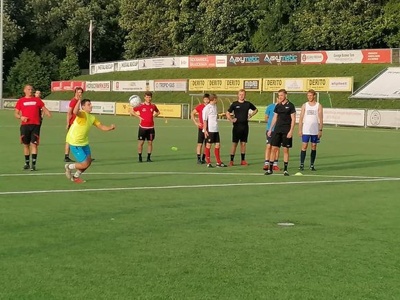 Voorlopig geen trainingen meer voor SV Everbeek.