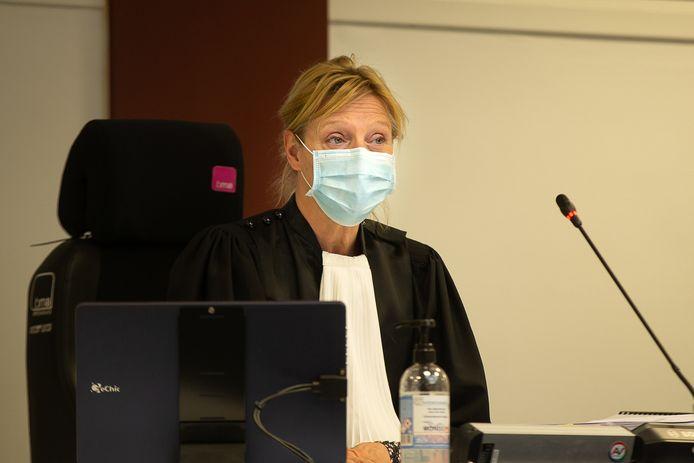 De voorzitster van de rechtbank in de klimaatzaak.