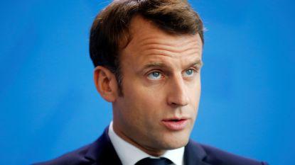 Macron wil harde aanpak van politie tegen relschoppers op 1 mei
