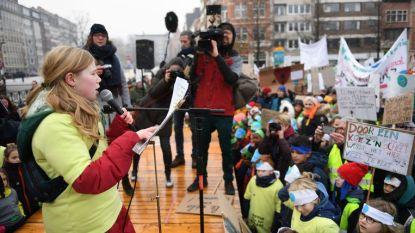 """Leuvense leerlingen: """"De juffen zijn te heet, red onze planeet"""""""