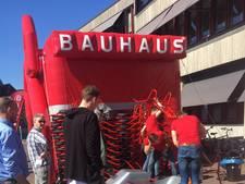 Irritatie over kruiwagens Bauhaus op markt in Oldenzaal