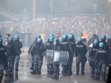 Italiaanse politie ontruimt haven Trieste na protesten tegen Green Pass