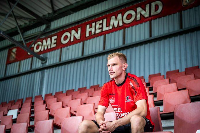 Jellert van Landschoot zal vrijdagavond vermoedelijk zijn officiële debuut voor Helmond Sport gaan maken.