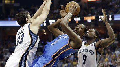 Durant houdt Oklahoma in de running
