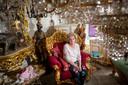 Caroline Smeehuijzen (63) in haar huurwoning aan de Dakpan in Ermelo.