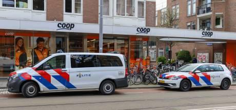 Supermarkt aan de Nieuwe Binnenweg overvallen; dader dreigt met vuurwapen