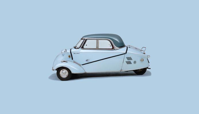 Messerschmitt KR asli, seperti dapat dilihat di Museum Louwman di Den Haag.
