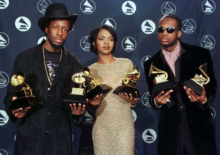Ten tijde van haar eerste successen met de rapgroep Fugees. Beeld Reuters