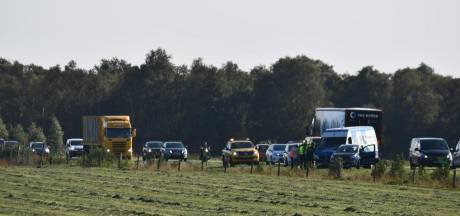File op de N36 neemt af na ongeval in Westerhaar