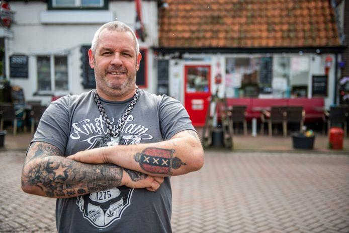 Marco IJben, eigenaar van Het Kleine Café aan de Kaai in Aardenburg