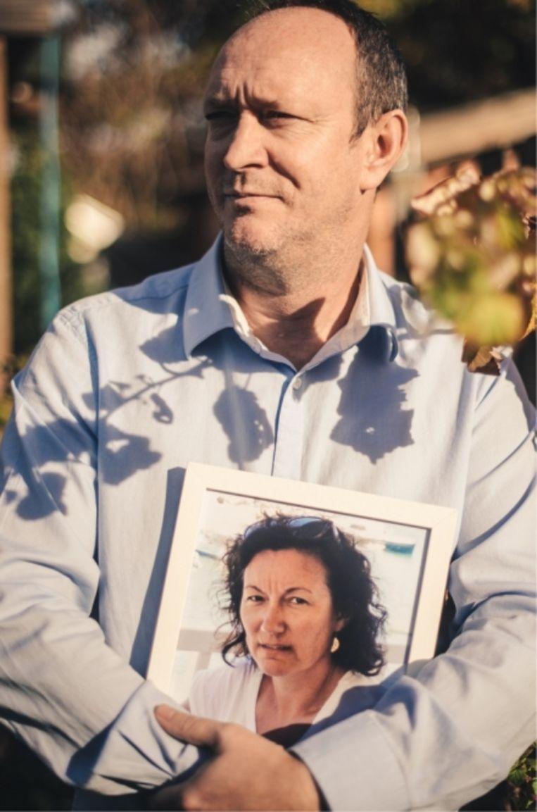 Jan De Vleeschouwer: 'Als ik Muriel liet opnemen in een woon-zorgcentrum, hield ik maandelijks 75 euro over voor mezelf en mijn kinderen.' Beeld