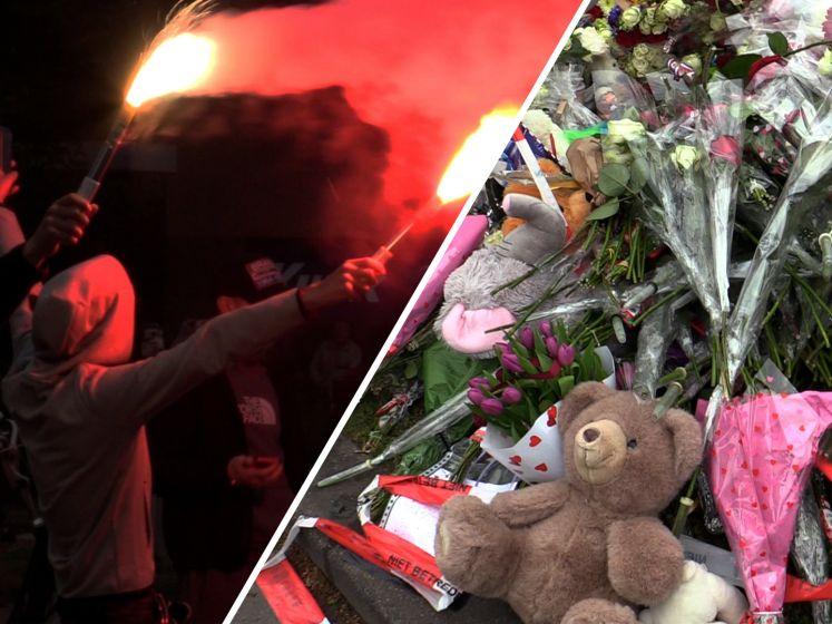Emotionele tocht voor overleden Jayden (12) in Tilburg