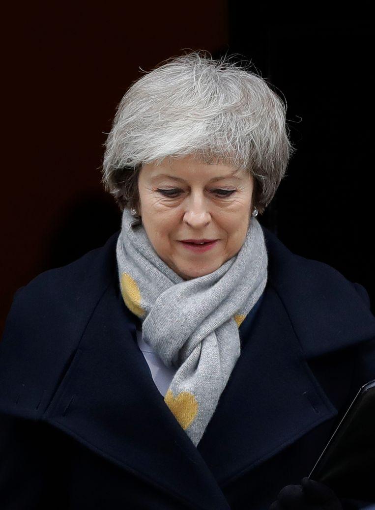 Theresa May. Beeld AP