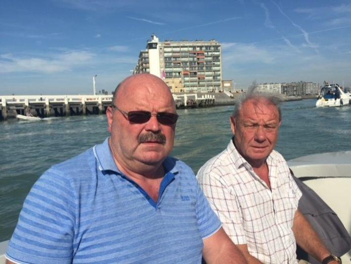 Michel Van Den Brande en zijn vriend Fons, die overleed aan een hartstilstand.
