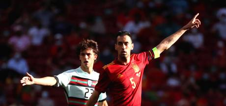 L'Espagne privée de son capitaine Sergio Busquets, positif au Covid