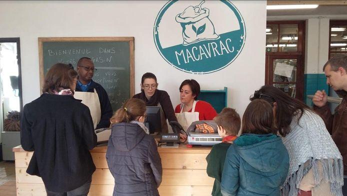 L'épicerie Macavrac a ouvert ses portes, à Wavre, le 20 février