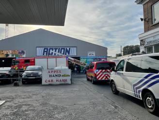 Action in Kortrijk even ontruimd door brandgeur