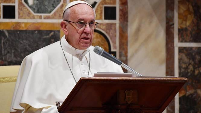 """Le pape dénonce la """"folie homicide"""" du djihadisme"""