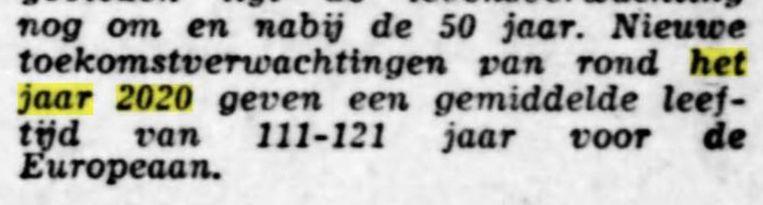 (De Tijd, 1969) Beeld