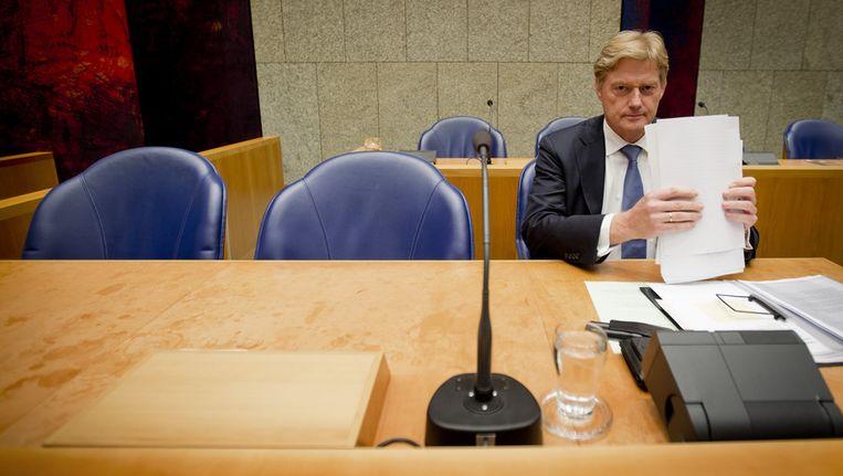 Staatssecretaris Martin van Rijn van Volksgezondheid. Beeld anp