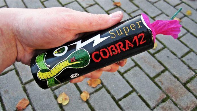 Cobra's behoren tot het extreem zware vuurwerk.